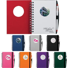 Circle Frame Hardcover JournalBook (100 Sheets)