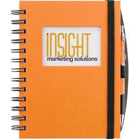 Advertising Frame Rectangle Hardcover Journal Book