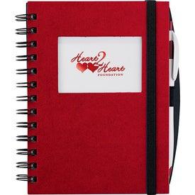Frame Rectangle Hardcover Journal Book for Marketing