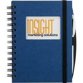 Branded Frame Rectangle Hardcover Journal Book