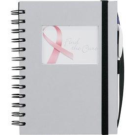 Monogrammed Frame Rectangle Hardcover Journal Book