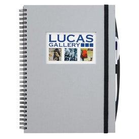 Frame Rectangle Large Hardcover Journal Book for Marketing