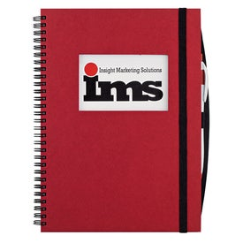 Logo Frame Rectangle Large Hardcover Journal Book
