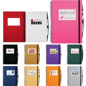 Rectangle Frame Large Hardcover JournalBook (70 Sheets)