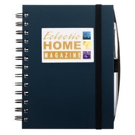 Frame Rectangle Leather Journal Book