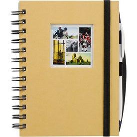 Advertising Frame Square Hardcover Journal Book