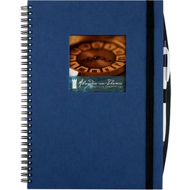 Personalized Frame Square Large Hardcover Journal Book