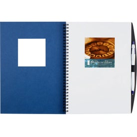Frame Square Large Hardcover Journal Book for Marketing