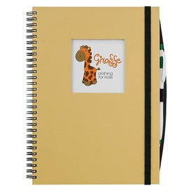 Frame Square Large Hardcover Journal Book for Your Organization