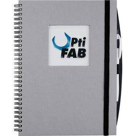 Custom Frame Square Large Hardcover Journal Book