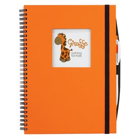 Advertising Frame Square Large Hardcover Journal Book