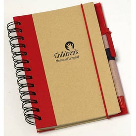 Geo Recycled Notebook for Your Company
