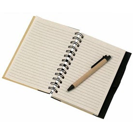 Geo Recycled Notebook