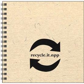 Monogrammed Going Green Journal