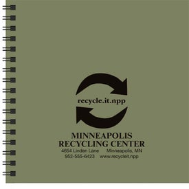 Personalized Going Green Journal