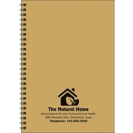 Monogrammed Goingreen Journal