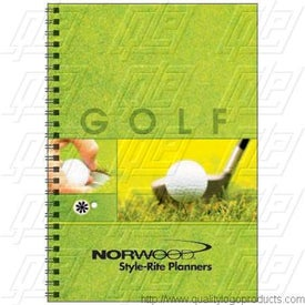 Golf Journal Imprinted with Your Logo