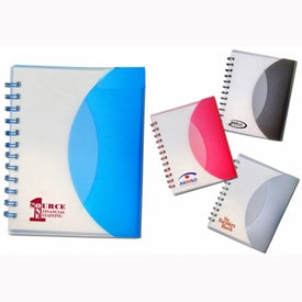 Promotional Half Moon Notebook