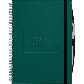 Hardcover Large Journal Book for Marketing