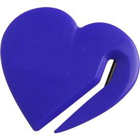 Heart Letter Slitter for Promotion