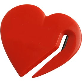 Heart Letter Slitter with Your Slogan