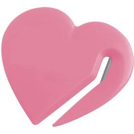 Monogrammed Heart Letter Slitter