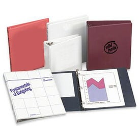 Heat Sealed Binder Branded with Your Logo