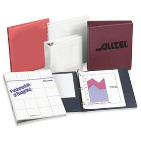 Heat Sealed Binder with Your Slogan