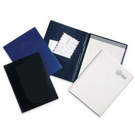 Monogrammed Heat Sealed Letter Pad Holder