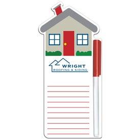 House Write On Wipe Off Board