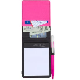 Iconic Jotter Media Clic Ice with Your Slogan