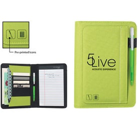 Iconic Jr. Writing Pad Media Clic Ice Imprinted with Your Logo