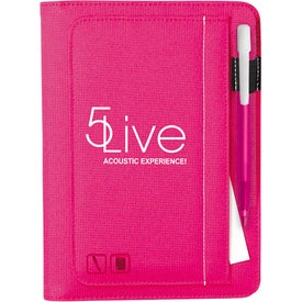 Monogrammed Iconic Jr. Writing Pad Media Clic Ice