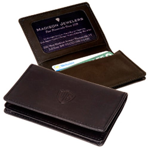Black Jersey ID Card Case