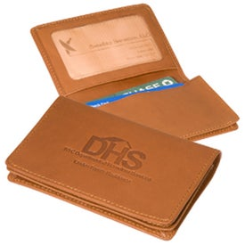 Imprinted Jersey ID Card Case