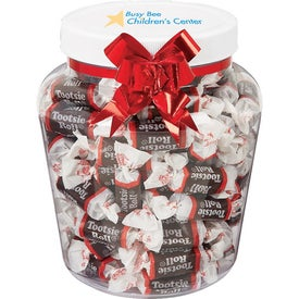 Personalized Jolly Candy Jar