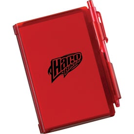 Jotter w/ Pen Imprinted with Your Logo