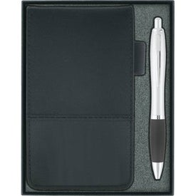 Company Jotter with Calculator and Ballpoint Pen