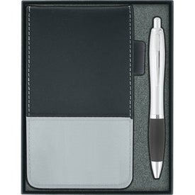 Jotter with Calculator and Ballpoint Pen