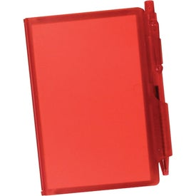 Branded Jotter Pad with Pen