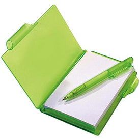 Custom Jotter Pad with Pen