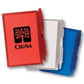 Jotter Pad with Pen for Marketing