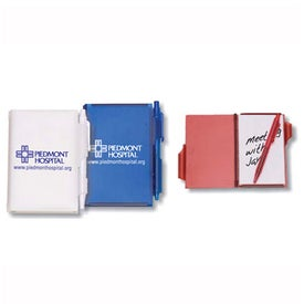 Jotter Pad with Matching Color Pen