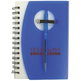 Customized Customizable Jotter with Pen