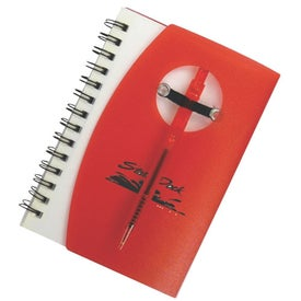 Customizable Jotter with Pen Imprinted with Your Logo