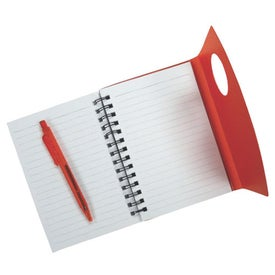 Printed Customizable Jotter with Pen