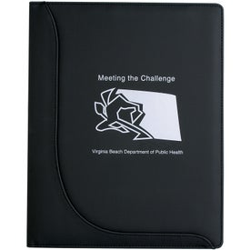 Jr. Executive L-Curve Padfolio Giveaways