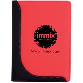 Jr. Executive L-Curve Padfolio for Customization