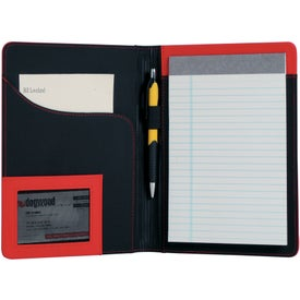 Logo Jr. Executive L-Curve Padfolio
