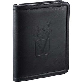 Kenneth Cole Borders Zippered Padfolio for Customization